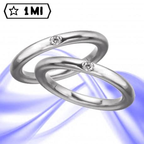 Fedi nuziali-Anello di design mod.00996