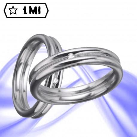 Fedi nuziali-Anello di design mod.00999