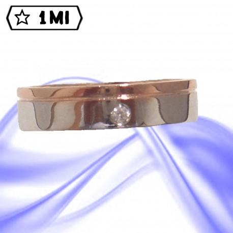 Fedi nuziali-Anello di design mod.01052