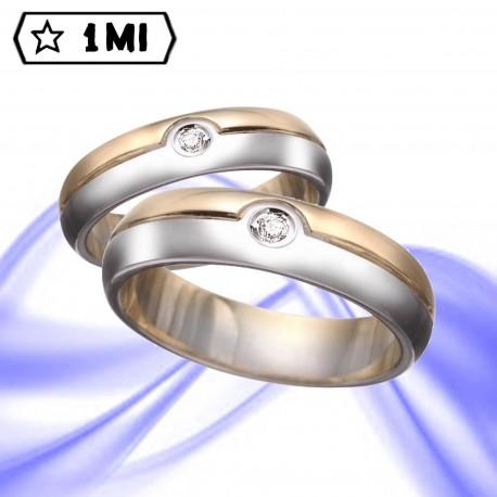 Fedi nuziali-Anello di design mod. 01230