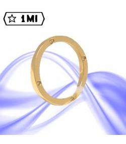 Fedi nuziali-Anello di design mod.01231