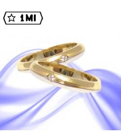 Fedi nuziali-Anello di design mod.01238