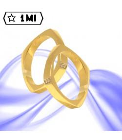 Fedi nuziali-Anello di design mod.01721