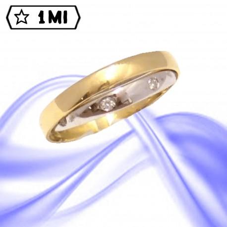 Fedi nuziali-Anello di design mod.01745