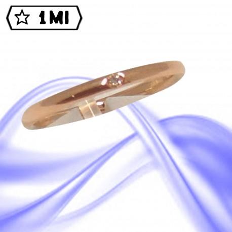 Fedi nuziali-Anello di design mod. 01996
