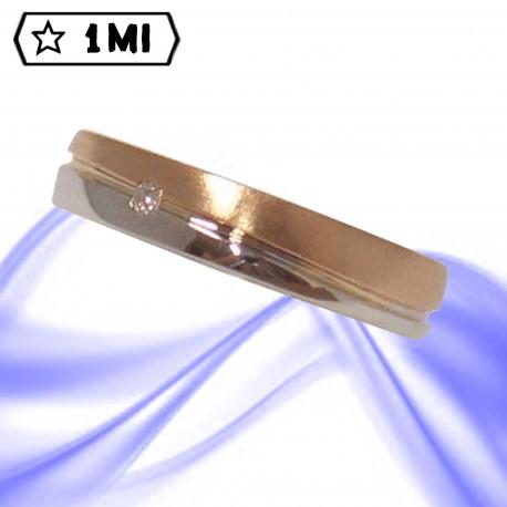 Fedi nuziali-Anello di design mod.02133
