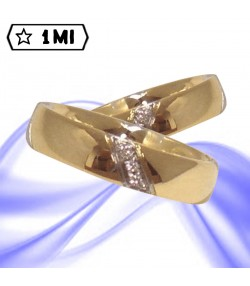 Fedi nuziali-Anello di design mod.02140