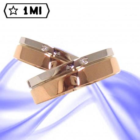 Fedi nuziali-Anello di design mod.02141