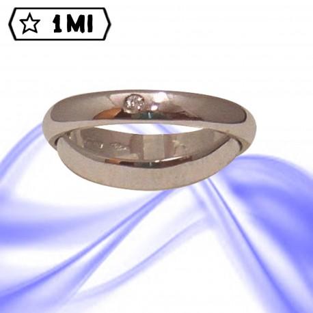 Fedi nuziali-Anello di design mod.02171
