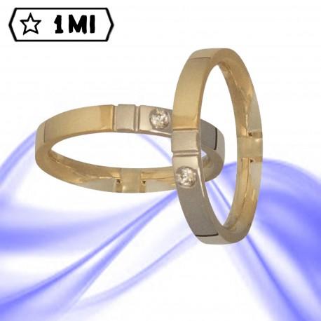 Fedi nuziali-Anello di design mod.02236