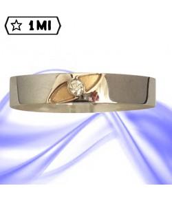 Fedi nuziali-Anello di design mod.02237