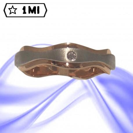 Fedi nuziali-Anello di design mod.02411