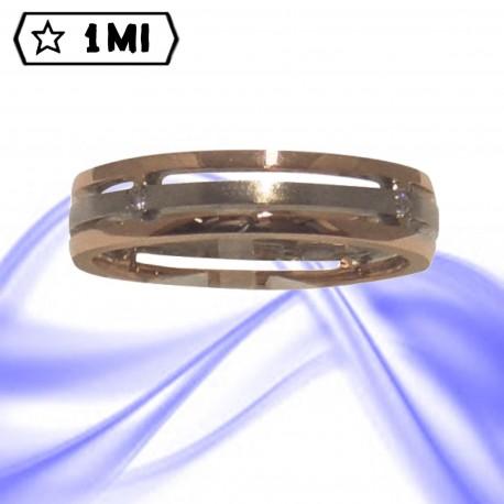 Fedi nuziali-Anello di design mod.02412