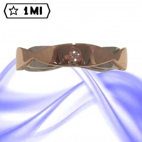 Fedi nuziali-Anello di design mod.02416