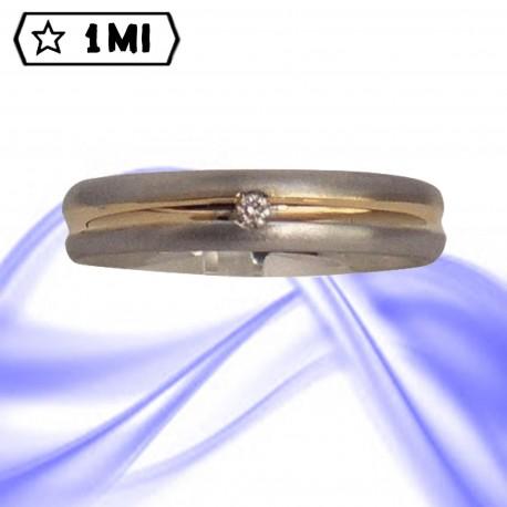 Fedi nuziali-Anello di design mod.02426
