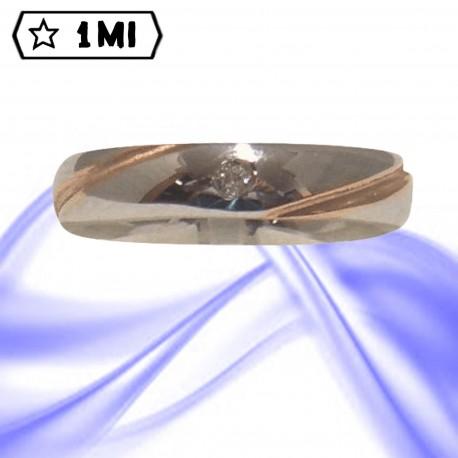 Fedi nuziali-Anello di design mod.02427