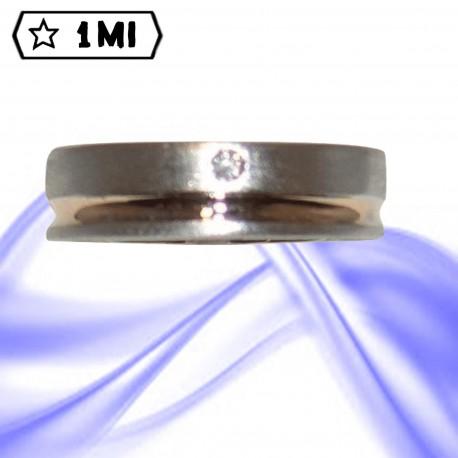 Fedi nuziali-Anello di design mod.02498