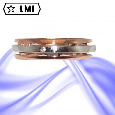 Fedi nuziali-Anello di design mod.02676