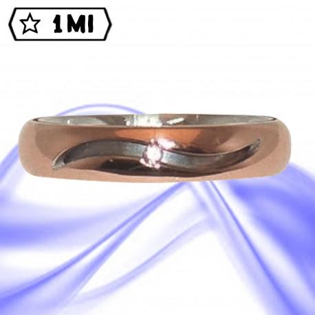 Fedi nuziali-Anello di design mod.02693