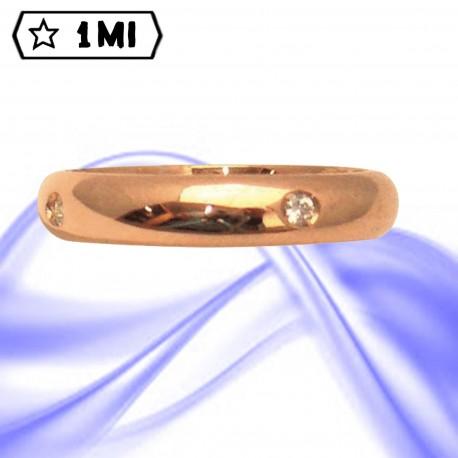 Fedi nuziali-Anello di design mod.02732