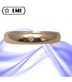 Fedi nuziali-Anello di design mod. 02733