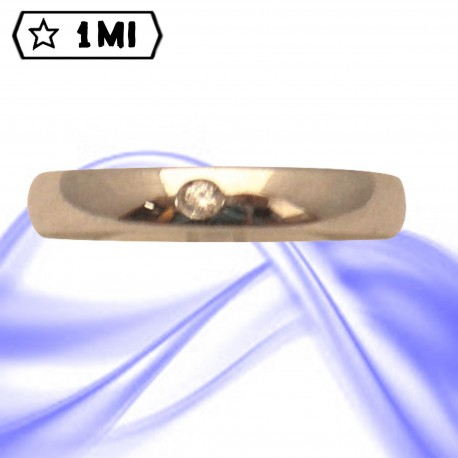 Fedi nuziali-Anello di design mod.02736