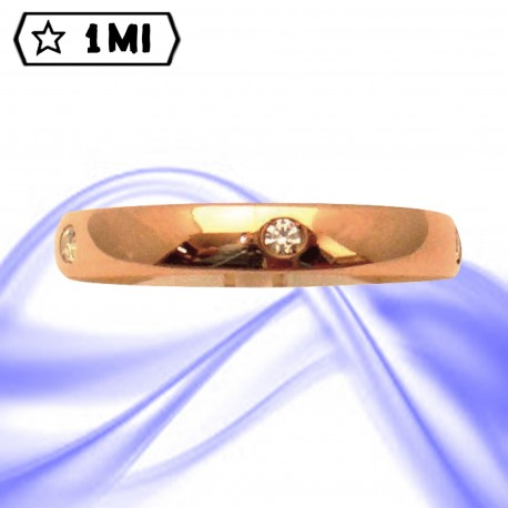 Fedi nuziali-Anello di design mod.02737