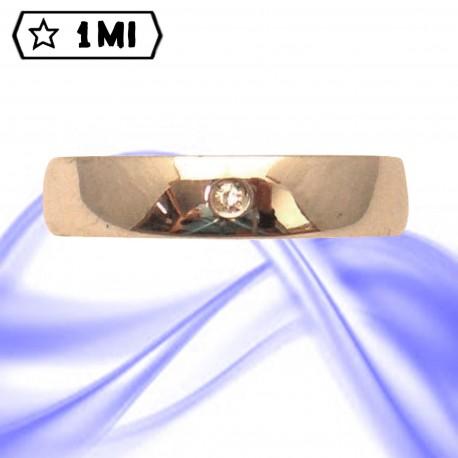 Fedi nuziali-Anello di design mod.02738
