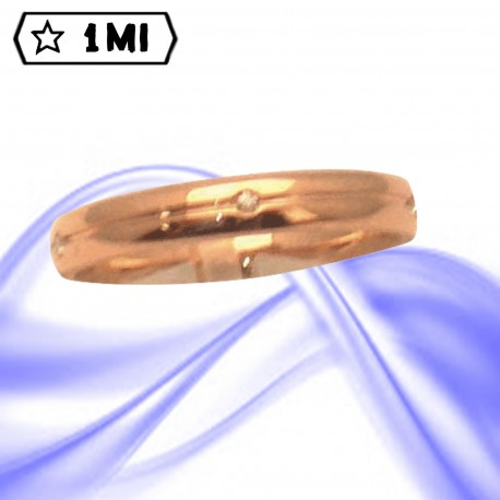 Fedi nuziali-Anello di design mod.02741