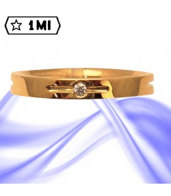 Fedi nuziali-Anello di design mod.02746
