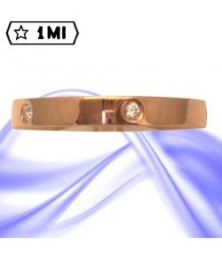 Fedi nuziali-Anello di design mod.02747