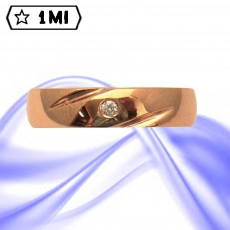 Fedi nuziali-Anello di design mod.02749