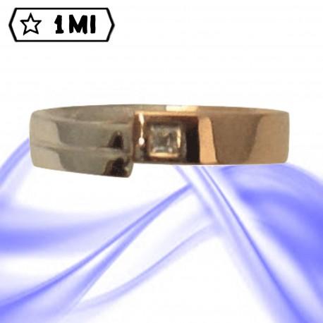 Fedi nuziali-Anello di design mod.02754