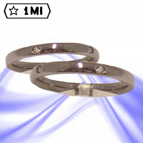 Fedi nuziali-Anello di design mod.01696