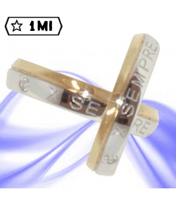Fedi nuziali-Anello di design mod.01922