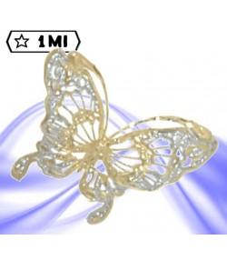 Raffinato ciondolo a forma di farfalla
