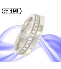Elegante Veretta CoPi46 in platino diamanti caratura tot.0,32ct