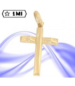 Raffinata croce in oro giallo