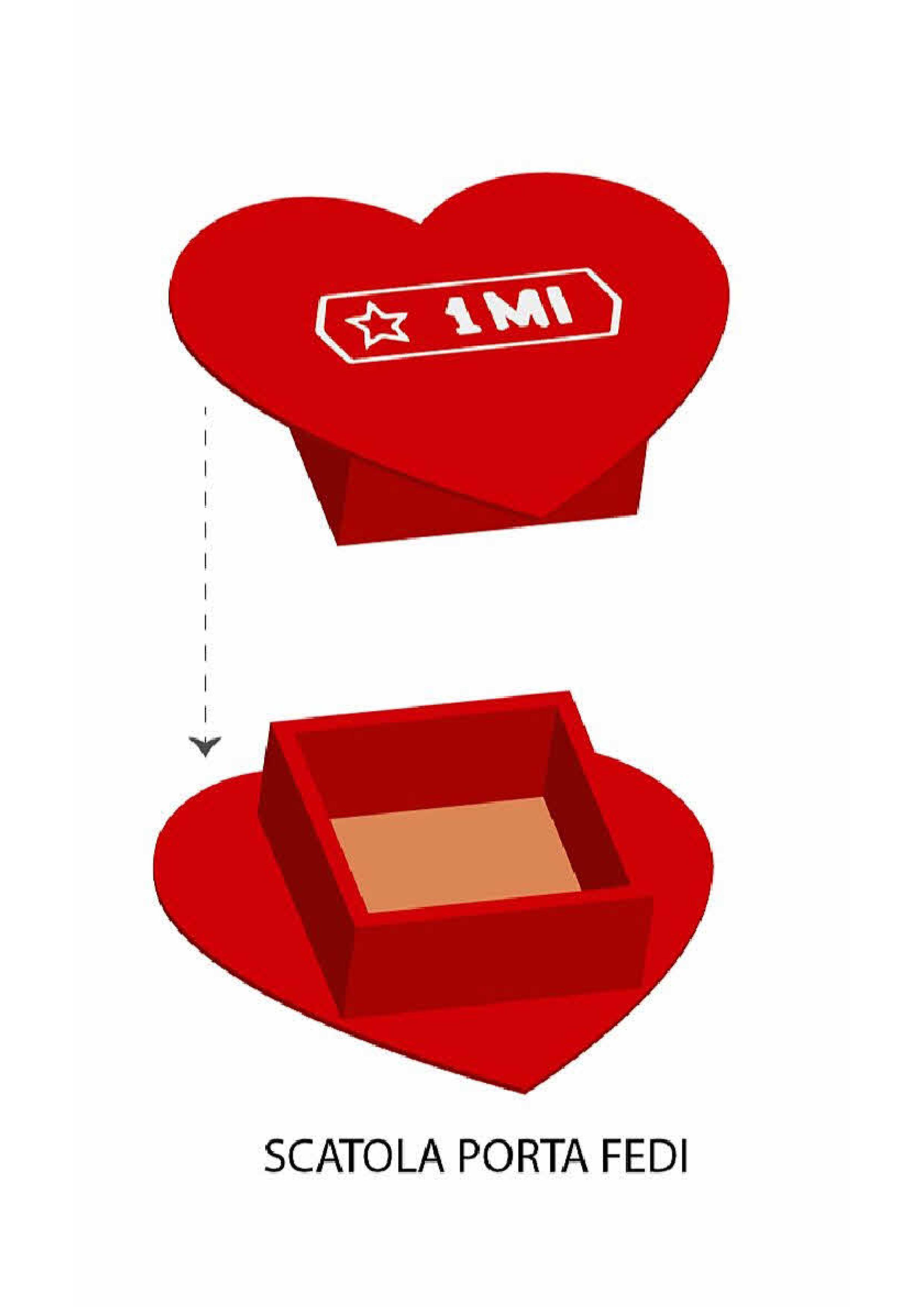 scatola cuscinetto porta fedi nuziali