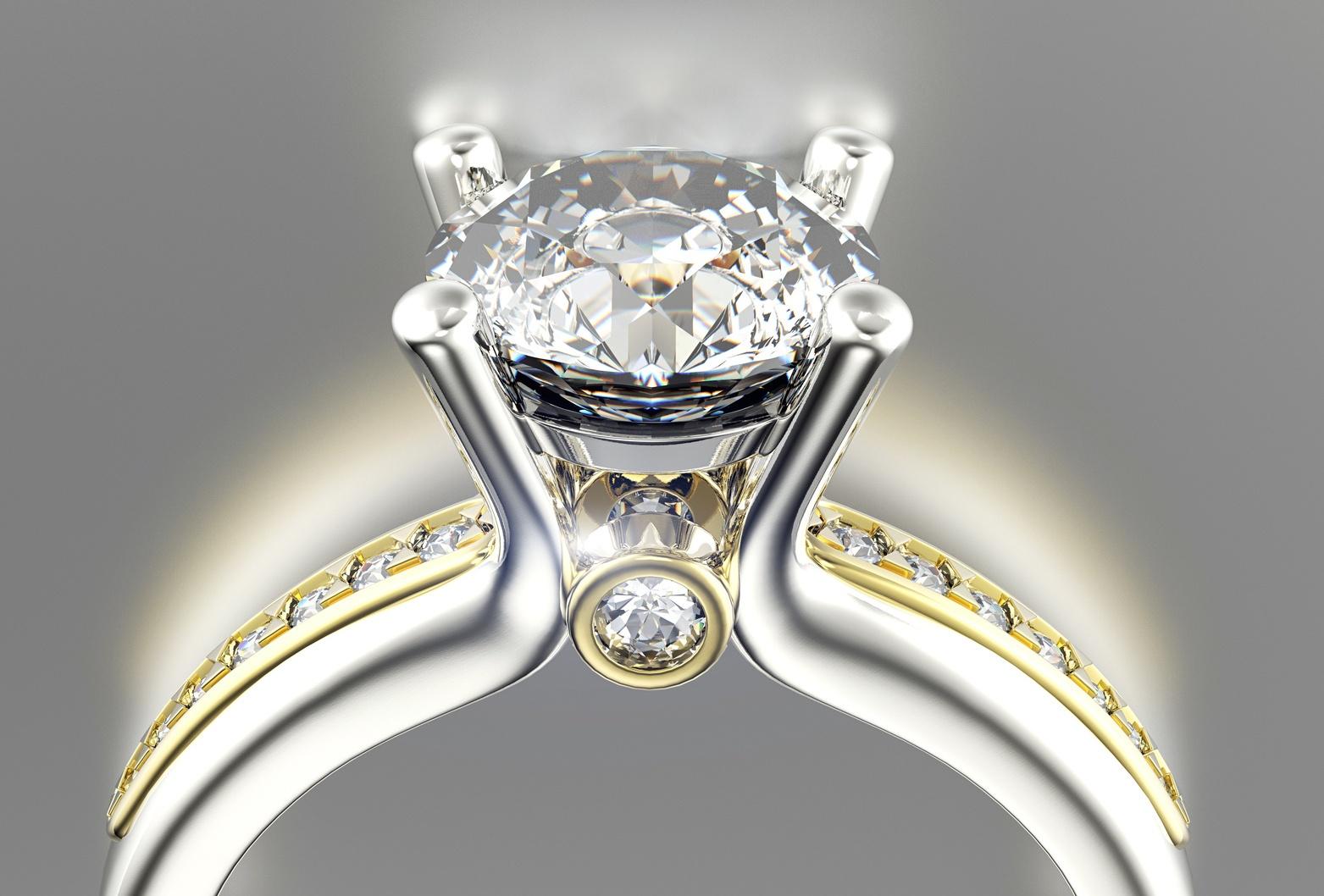 solitario con diamante naturae da 1 carato