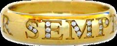 fedi nuziali oro giallo con diamante